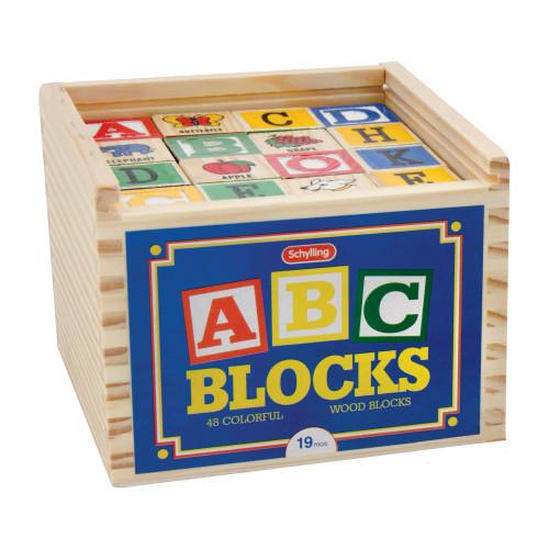 ABC Alphabet Wooden Blocks