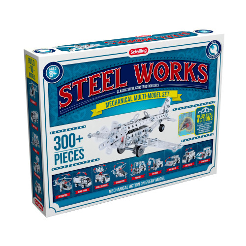 Mechanical Multi Model Steel Works