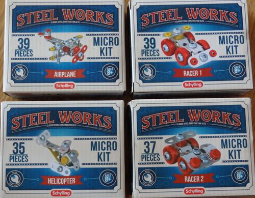 Set of 4 Micro Kits Steel Works