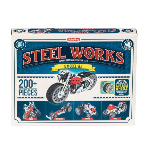 5 Model Set Steel Works