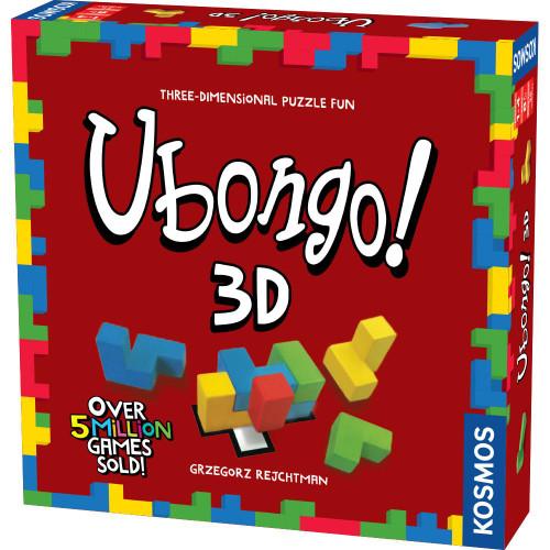 Ubongo! 3D Geometric Puzzle Game