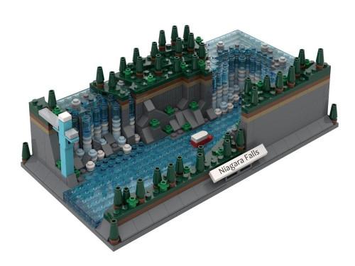 Niagara Falls The Atom Brick
