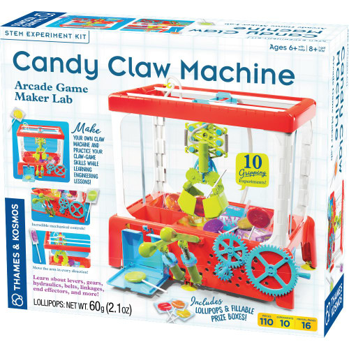 Candy Claw Machine STEM Experiment Kit