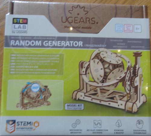 Random Generator STEM Lab UGEARS