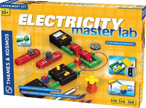 Electricity Master Lab Experiment Kit