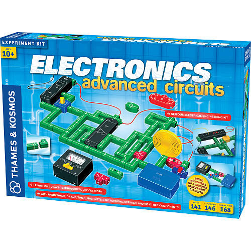 Electronics: Advanced Circuits Experiment Kit