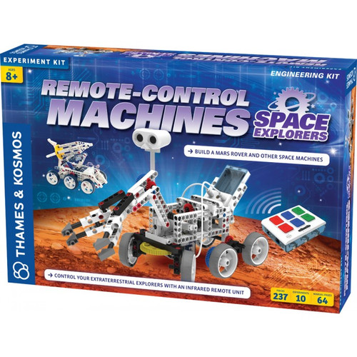 Remote-Control Machines: Space Explorers Engineering Kit