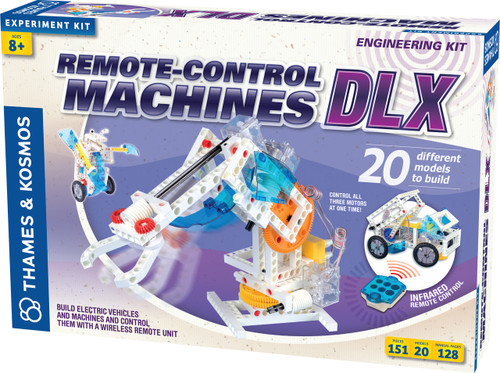 Remote-Control Machines DLX Construction Kit