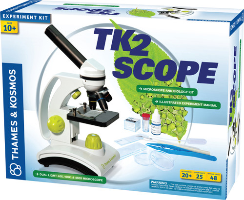 TK2 Scope Microscope and Biology Experiment Kit