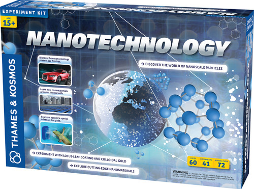 Nanotechnology Cutting Edge Nanomaterials Experiment Kit
