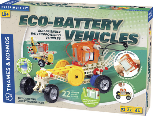 Eco-Battery Vehicles Experiment Kit