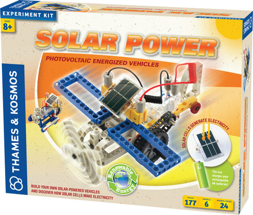 Solar Power Photovoltaic Energized Vehicles Experiment Kit