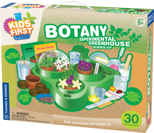 Kids First Botany: Experimental Greenhouse Experiment Kit
