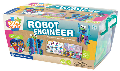 Kids First Robot Engineer Experiment Kit