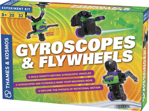 Gyroscopes & FlyWheels Experiment Kit