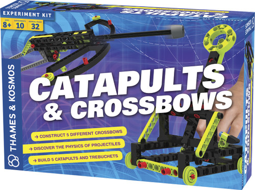 Catapults & Crossbows Experiment Kit