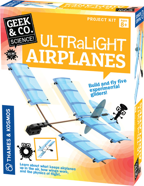 Ultralight Airplanes Science Project Kit