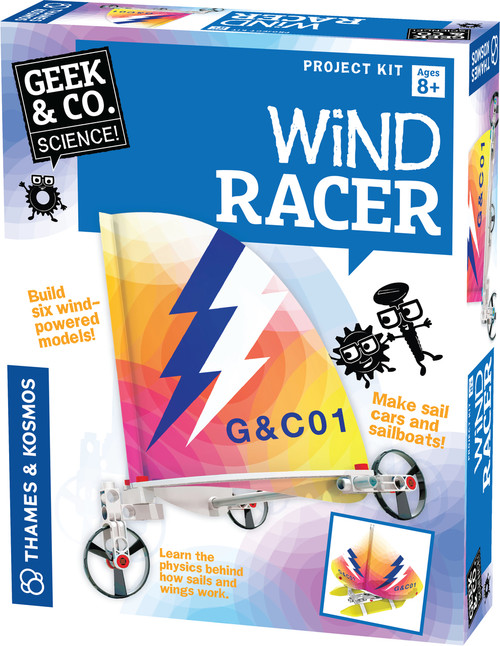 Wind Racer Science Project Kit