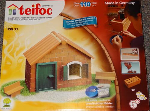 Starter House Teifoc Brick & Mortar  Building Kit