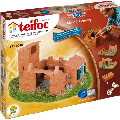 Beginner Castle/House Teifoc Brick & Mortar  Building Kit