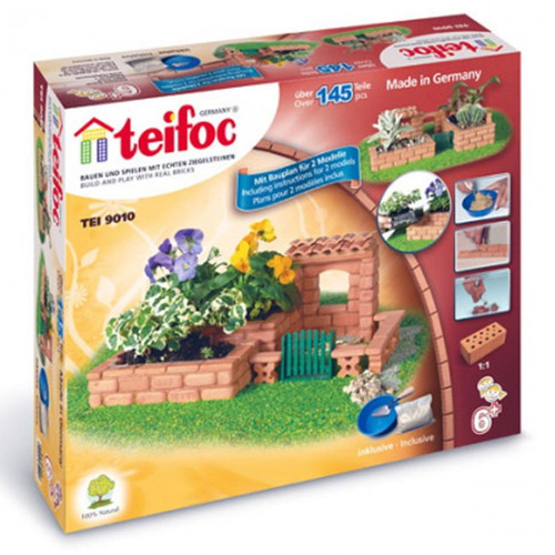 Small Garden Teifoc Brick & Mortar  Building Kit