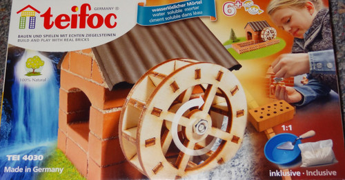 Watermill Teifoc Brick & Mortar  Building Kit