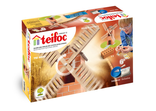 Windmill Teifoc Brick & Mortar  Building Kit
