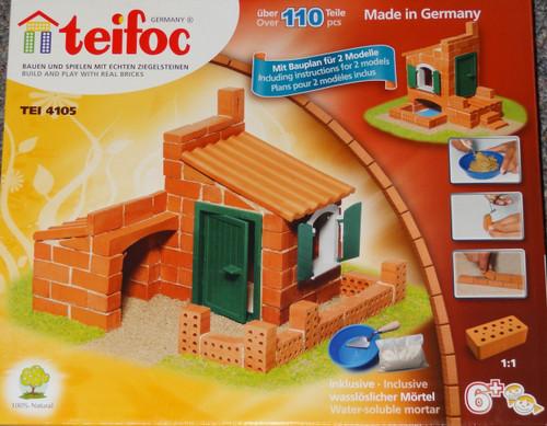 Houses Teifoc Brick & Mortar  Building Kit
