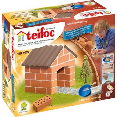 Small Cottage Teifoc Brick & Mortar  Building Kit