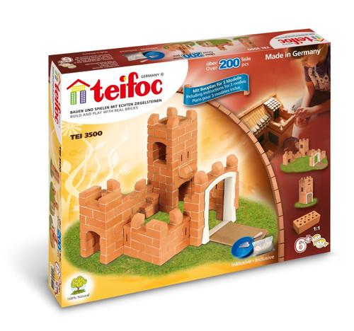 Small Castle Teifoc Brick & Mortar  Building Kit