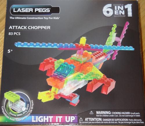 Attack Chopper Zippy Do Laser Pegs