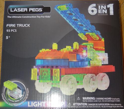 Fire Truck Zippy Do Laser Pegs