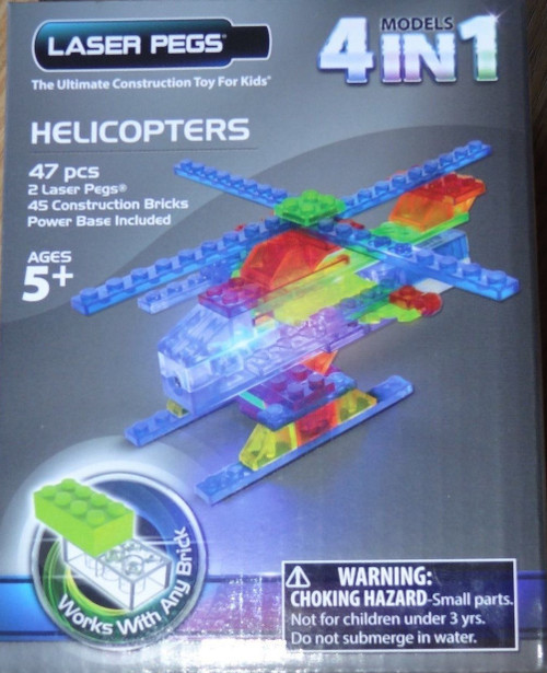 Helicopters MPS Laser Pegs