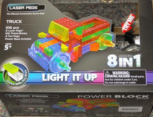Truck Power Block Laser Pegs