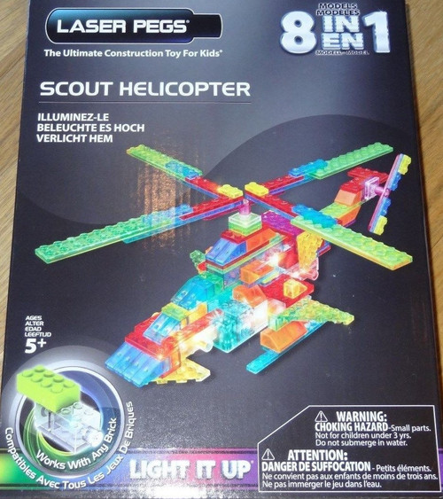 Scout Helicopter Power Block Laser Pegs