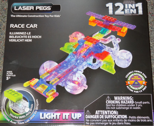 Race Car  Laser Pegs