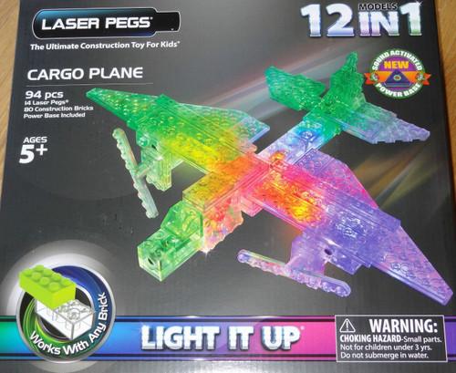 Cargo Plane  Laser Pegs