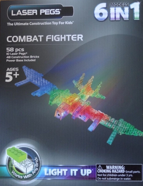 Combat Fighter  Laser Pegs