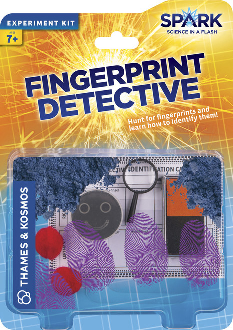 Fingerprint Detective Spark Experiment Kit