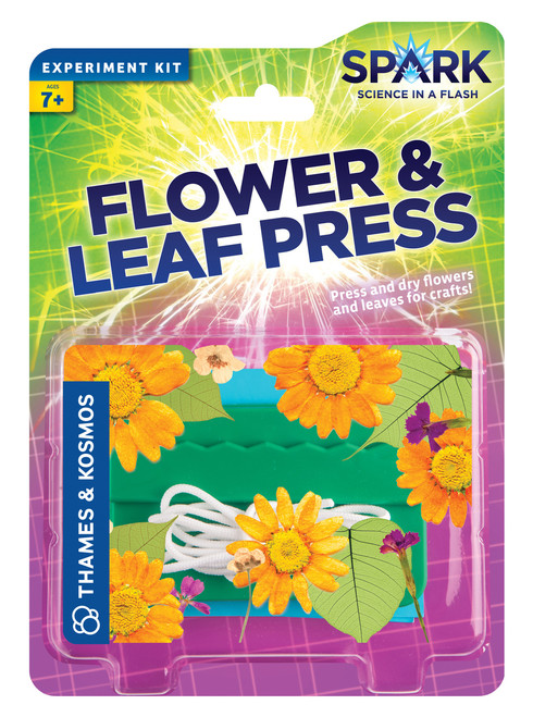 Flower & Leaf Press Spark Experiment Kit