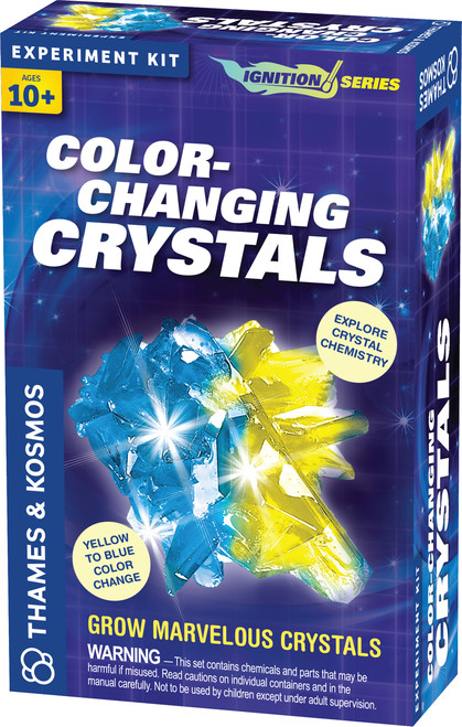 Color Changing Crystals Ignition Series Experiment Kit