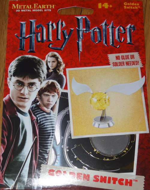 Golden Snitch Harry Potter Metal Earth