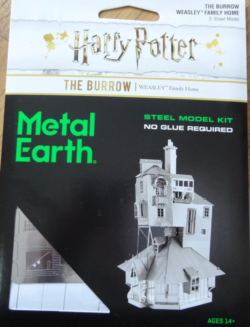 The Burrow Harry Potter Metal Earth