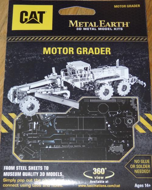 Motor Grader CAT Metal Earth