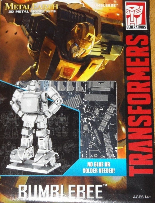 Bumblebee Transformers Metal Earth