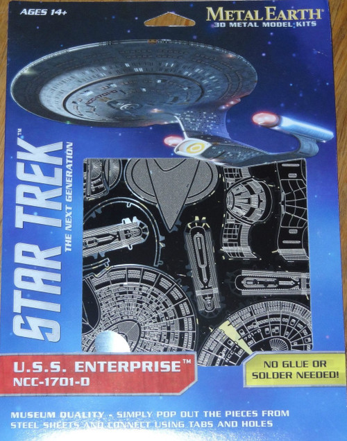 NCC-1701-D Star Trek Metal Earth