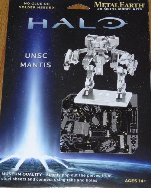 UNSC Mantis Halo Metal Earth