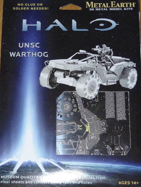 UNSC Warthog Halo Metal Earth