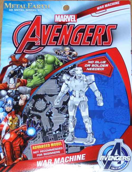 War Machine Marvel Avengers Metal Earth