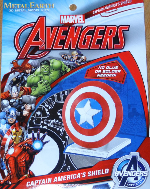 Captain America's Shield Marvel Avengers Metal Earth